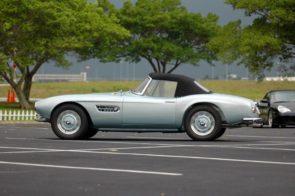 1957 Bmw 507 Conceptcarz Com