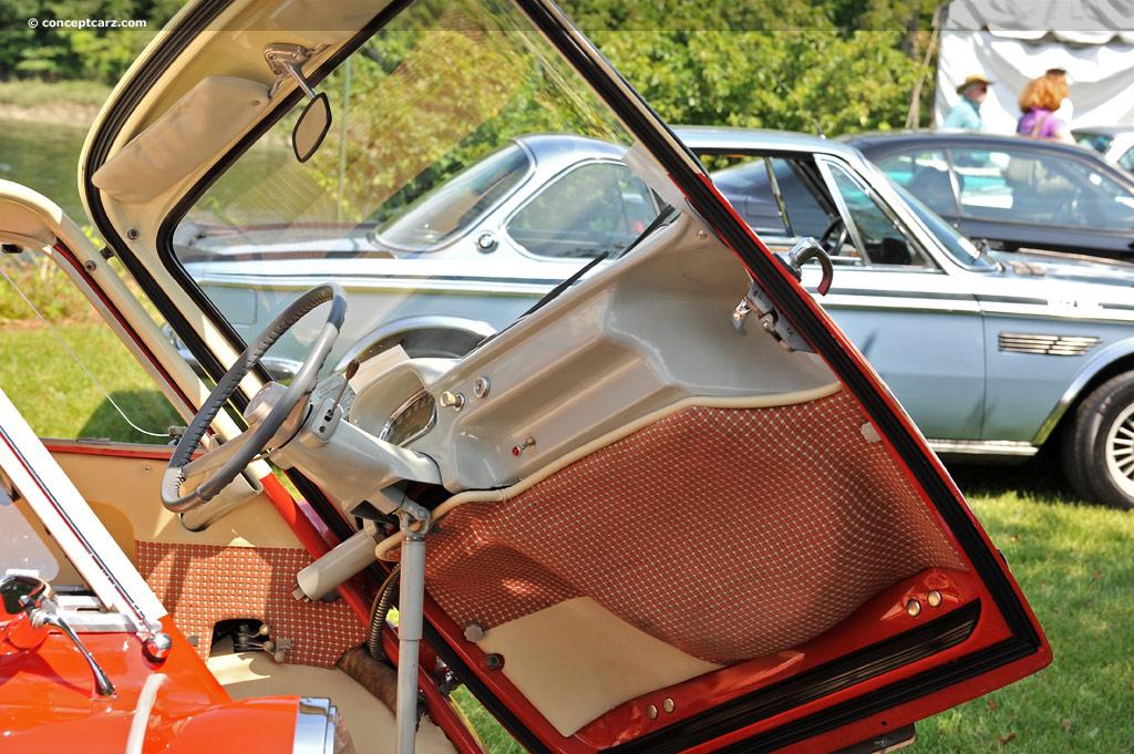 of The 1959 Bmw Isetta 300