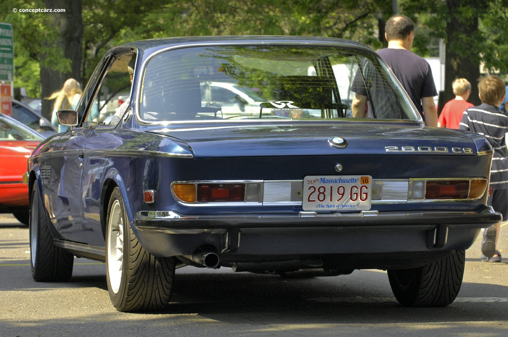 The 1970 Bmw 2800 And Not