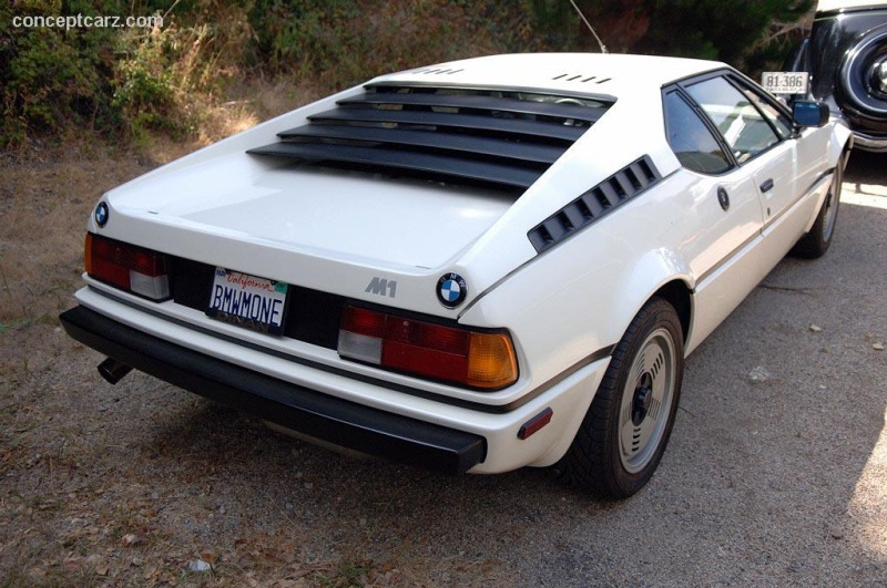BMW M At The Bonhams Butterfields At The Quail Lodge - 1981 bmw m1 for sale