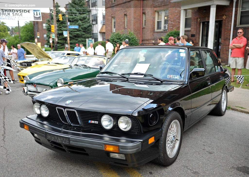 1988 bmw m5 at the the 28th annual pittsburgh vintage. Black Bedroom Furniture Sets. Home Design Ideas