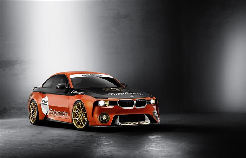 2016 BMW 2002 Hommage Pebble Beach Concept Image