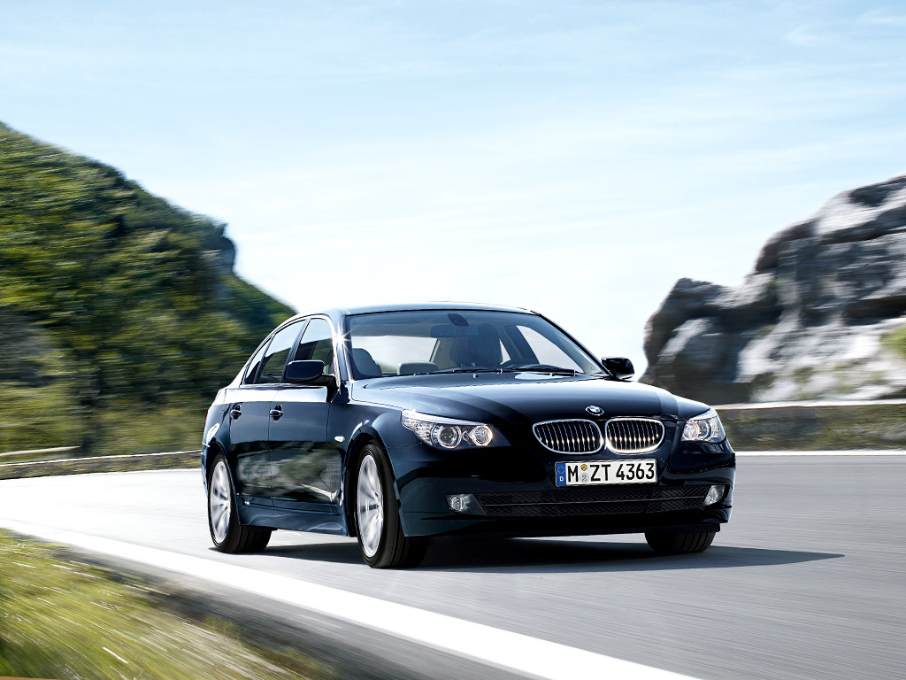 The 2008 bmw 5 series