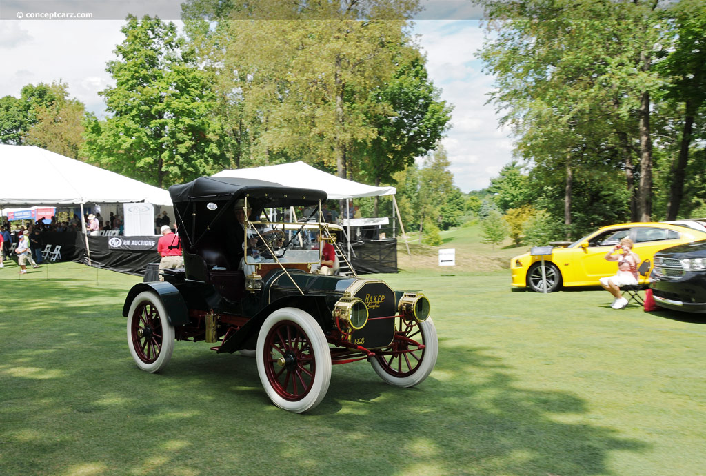 1908 baker model m at the concours d 39 elegance of america for Baker motors used cars