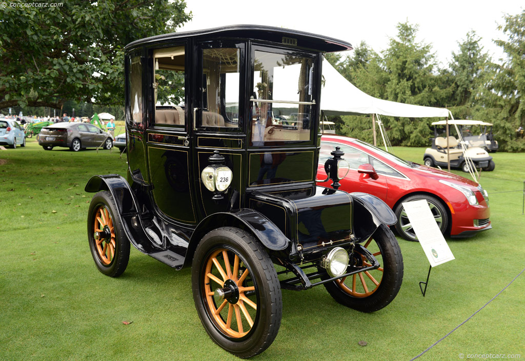 1911 baker electric conceptcarz for Baker motors used cars