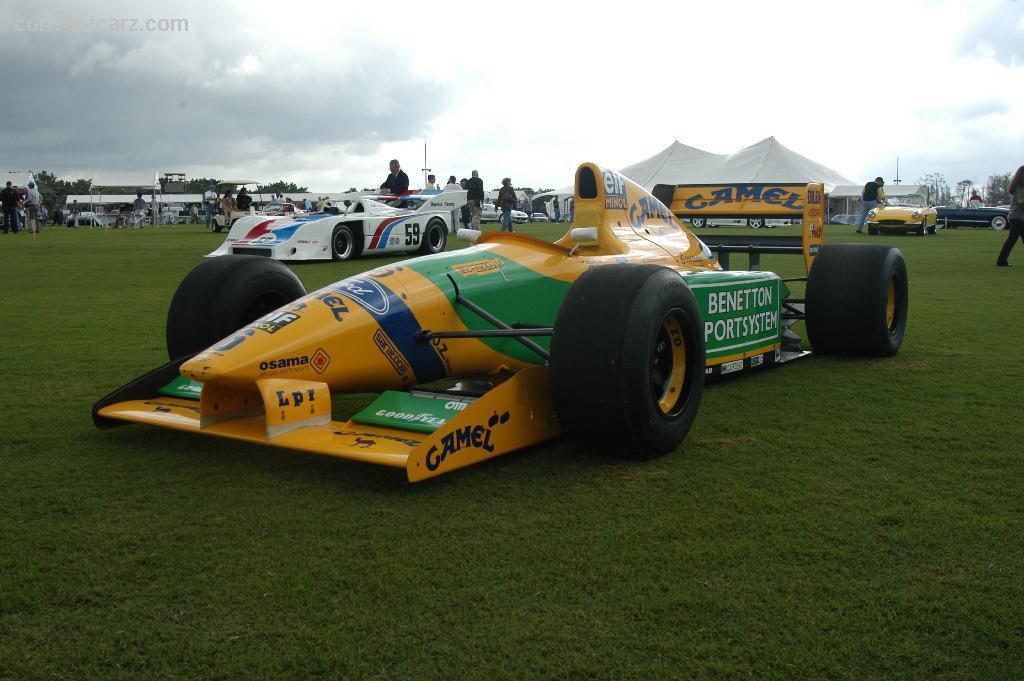 1993 benetton b193b