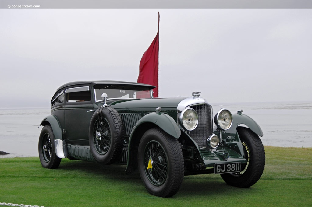 1930 bentley speed six at the pebble beach concours d 39 elegance. Black Bedroom Furniture Sets. Home Design Ideas