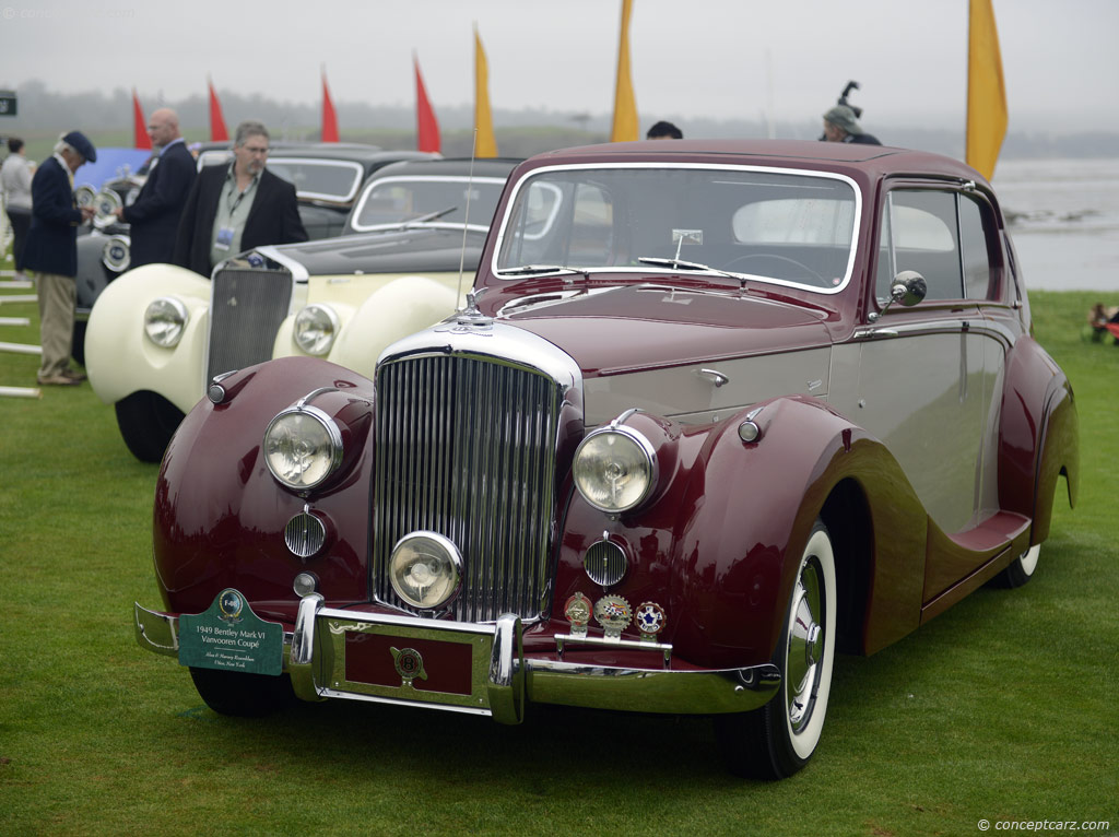 1949 Bentley Mark Vi At The Pebble Beach Concours D Elegance