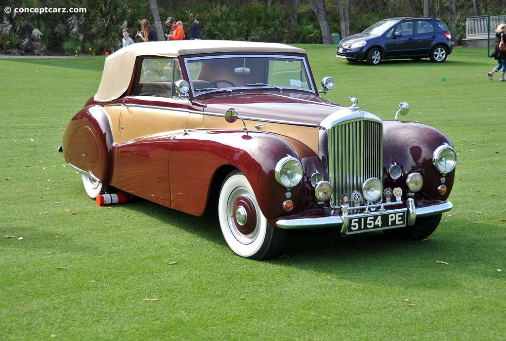 1952 Bentley R Type Conceptcarz Com