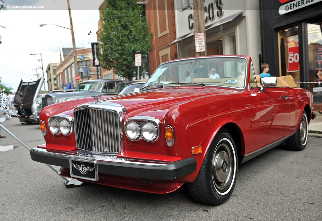 1983 Bentley Corniche Conceptcarz Com