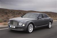 2012 Bentley Mulsanne Mulliner Driving Specification image.