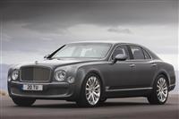 2012 Bentley Mulsanne Mulliner Driving Specification