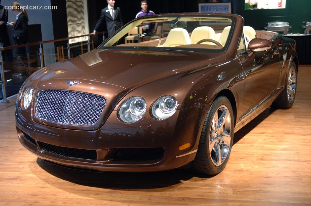 2007 bentley continental gtc. Black Bedroom Furniture Sets. Home Design Ideas