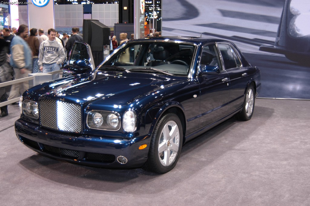 auction results and data for 2003 bentley arnage t mecum. Black Bedroom Furniture Sets. Home Design Ideas