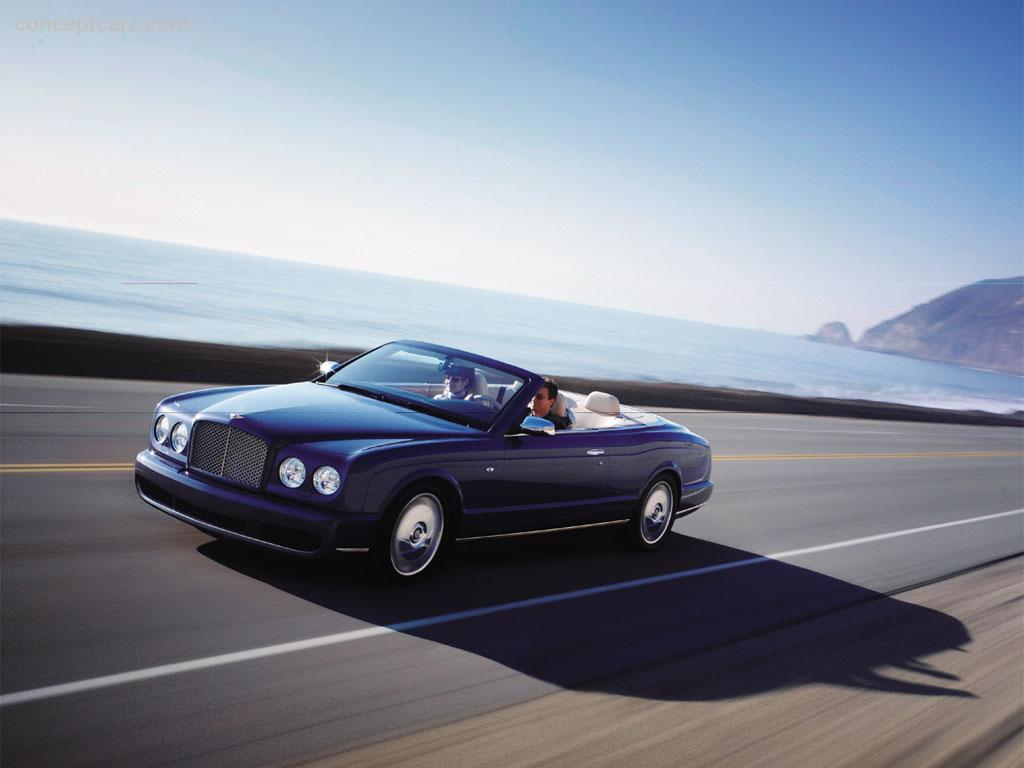 Past and future supercars conceptcarz bentley azure vanachro Gallery