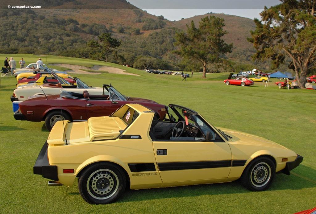 1988 Bertone X1 9 Conceptcarz Com