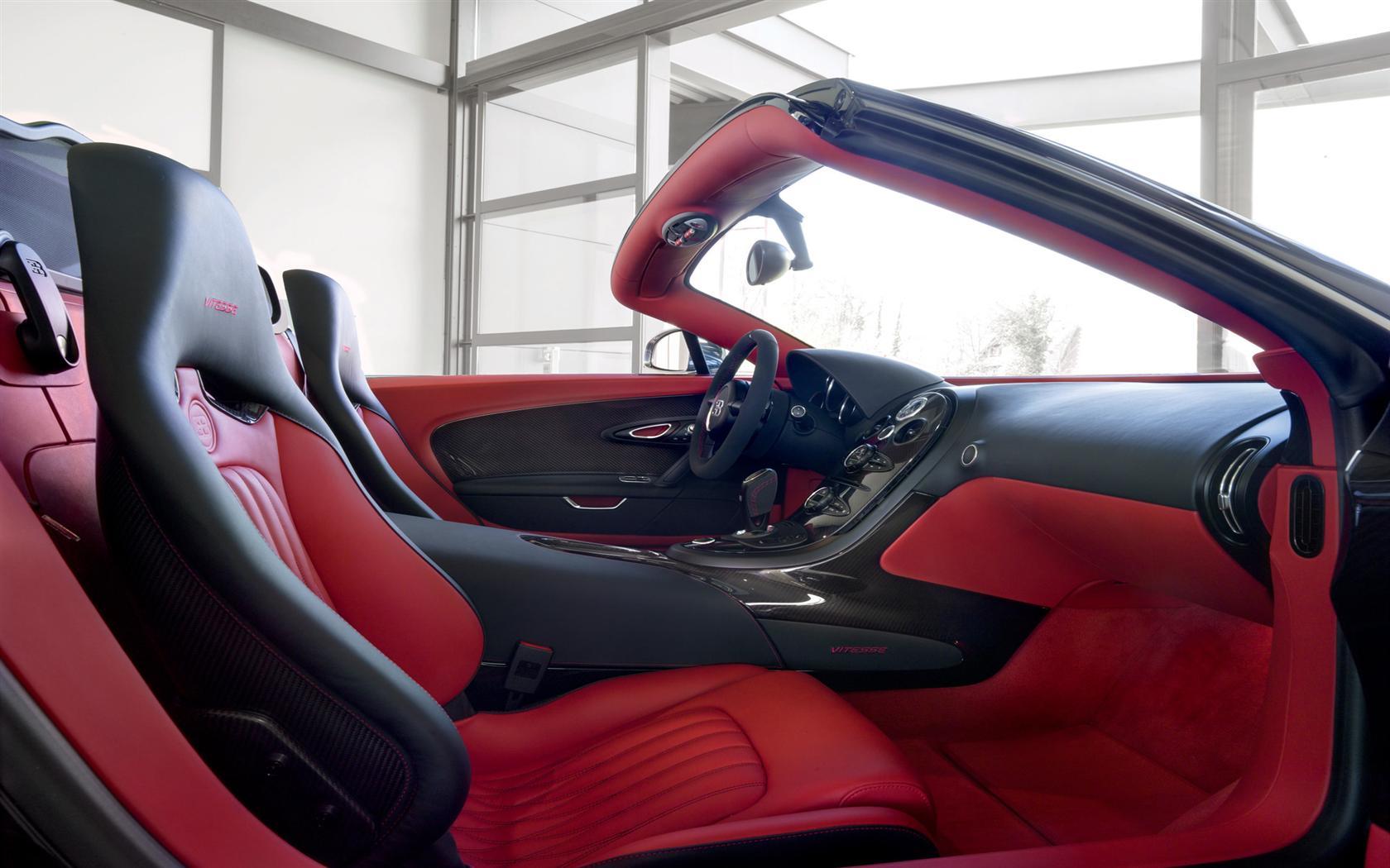 2012 bugatti veyron grand sport vitesse black and red image. Black Bedroom Furniture Sets. Home Design Ideas