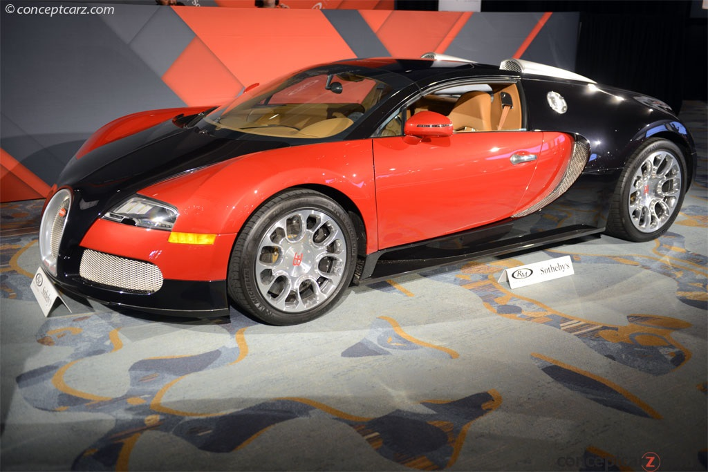 auction results and data for 2012 bugatti veyron grand sport. Black Bedroom Furniture Sets. Home Design Ideas