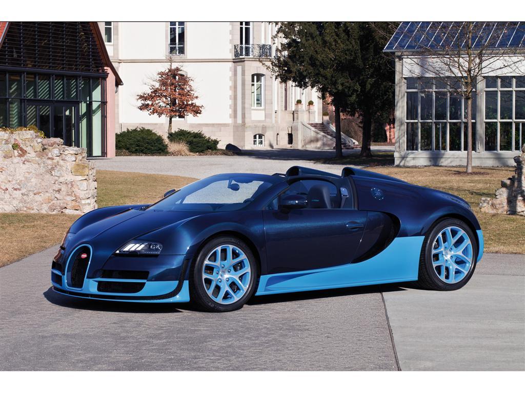 Bugatti Veyron Grand Sport Vitesse pictures and wallpaper
