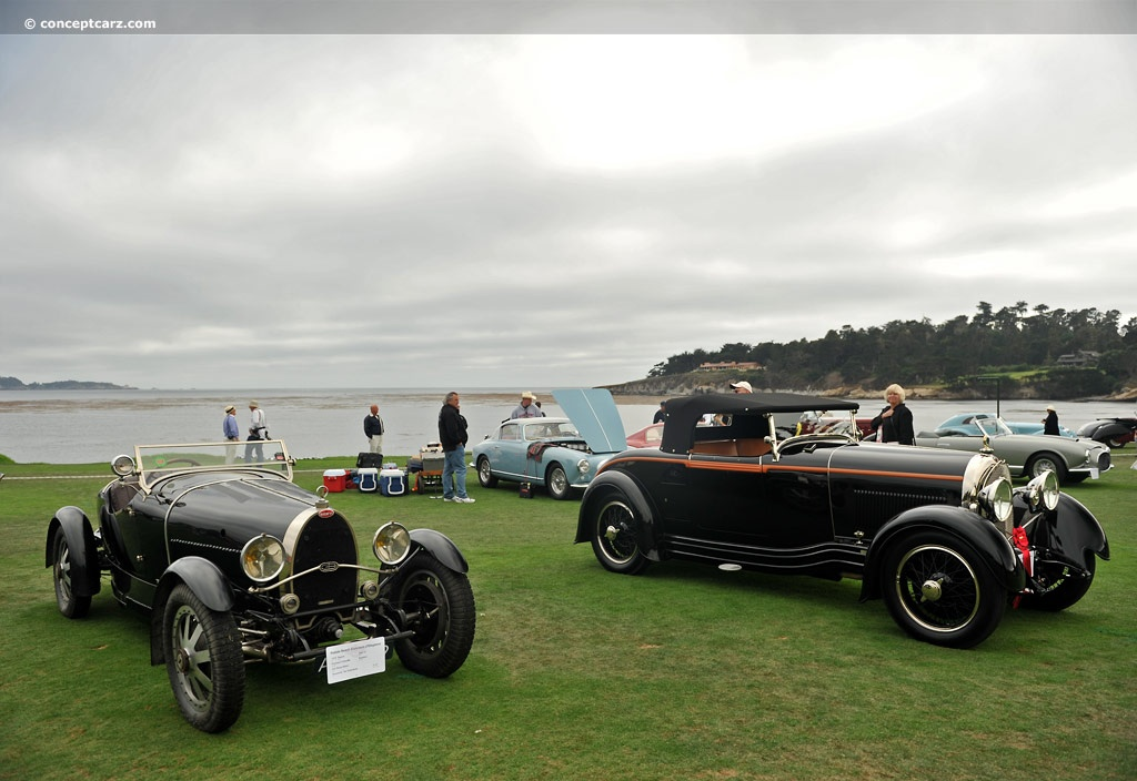 Bugatti Type 43 pictures and wallpaper