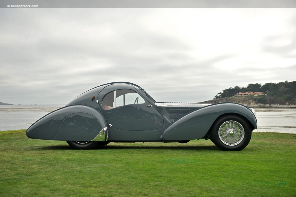 Bugatti Type 57S pictures and wallpaper