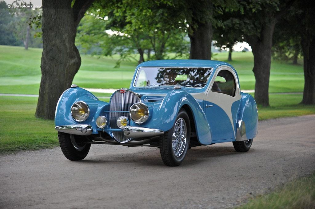 Bugatti Type 57SC Atalante pictures and wallpaper