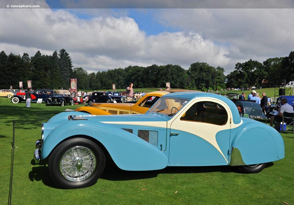 1937 Bugatti Type 57SC Atalante Image