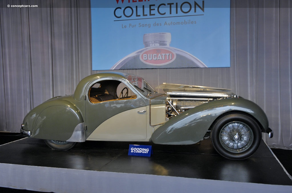 1937 Bugatti Type 57SC Atalante photos