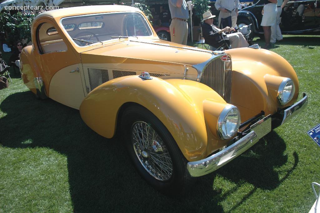 1937 Bugatti Type 57SC Atalante photos