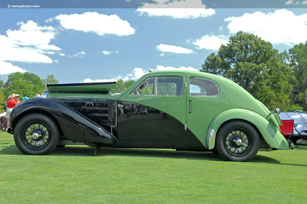 1938 Bugatti Type 57c Image Chassis Number 57335