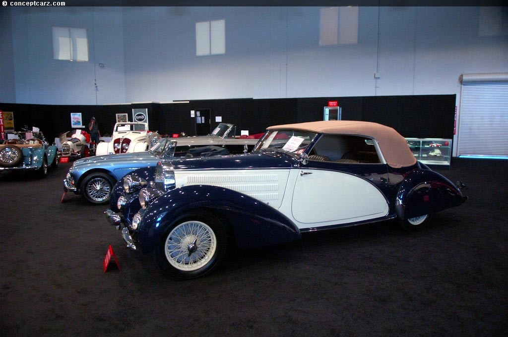 1938 Bugatti Type 57 T57 Ventoux Atalante Stelvio