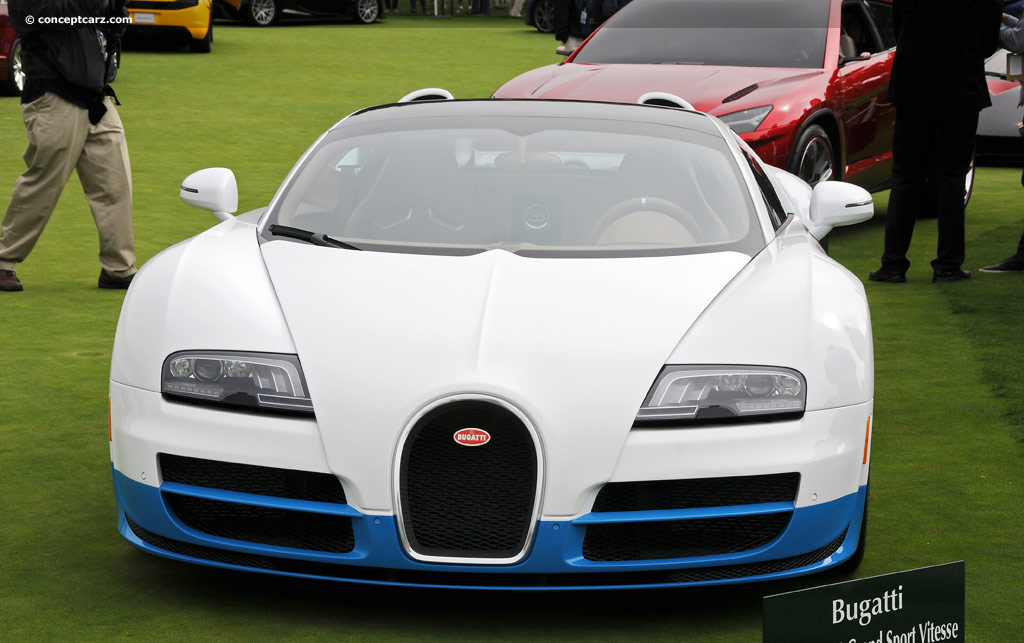 2012 bugatti veyron grand sport vitesse at the pebble. Black Bedroom Furniture Sets. Home Design Ideas