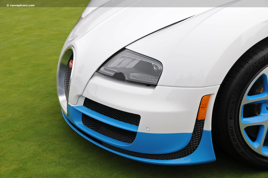 2012 bugatti veyron grand sport vitesse at the pebble beach concours d 39 el. Black Bedroom Furniture Sets. Home Design Ideas