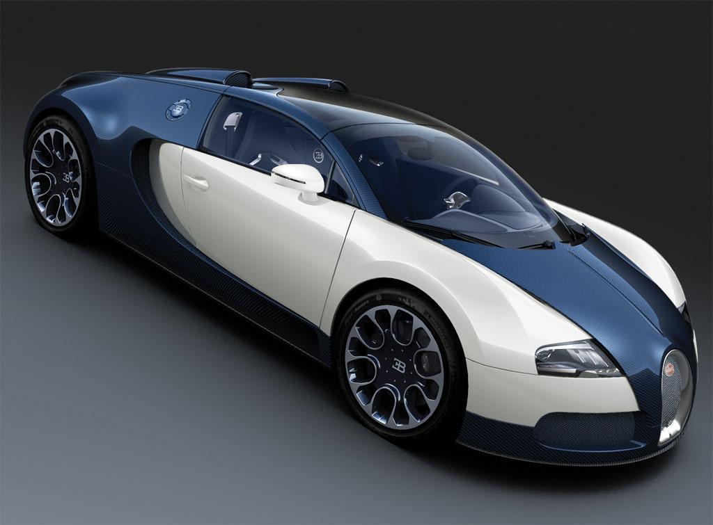 2010 Bugatti Veyron Grand Sport Blue Carbon - conceptcarz.com