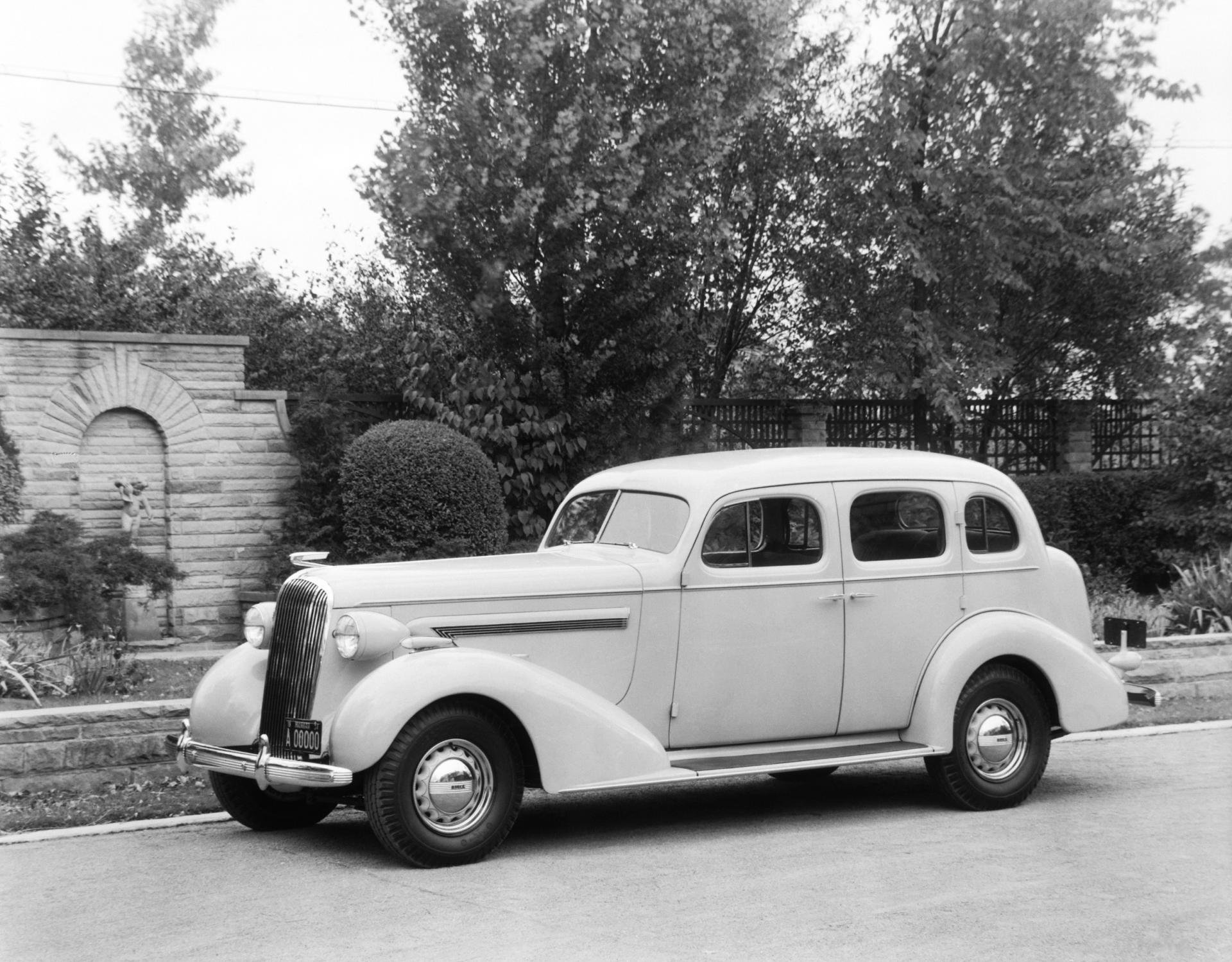 1936 Buick Century Series 60 Pictures History Value