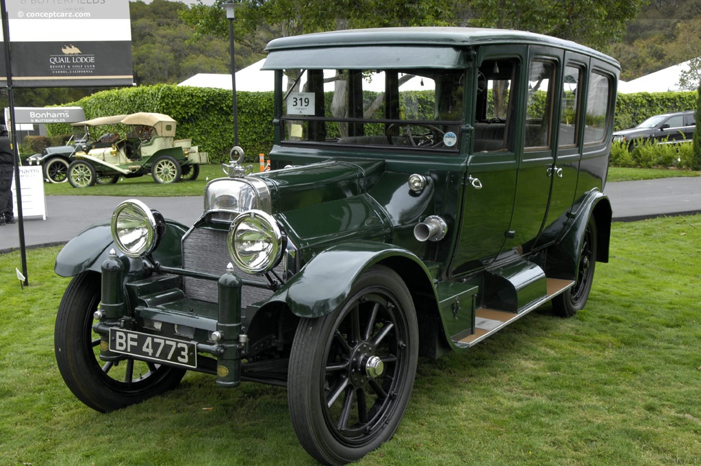The First American Factory Made Car With A V8 1914