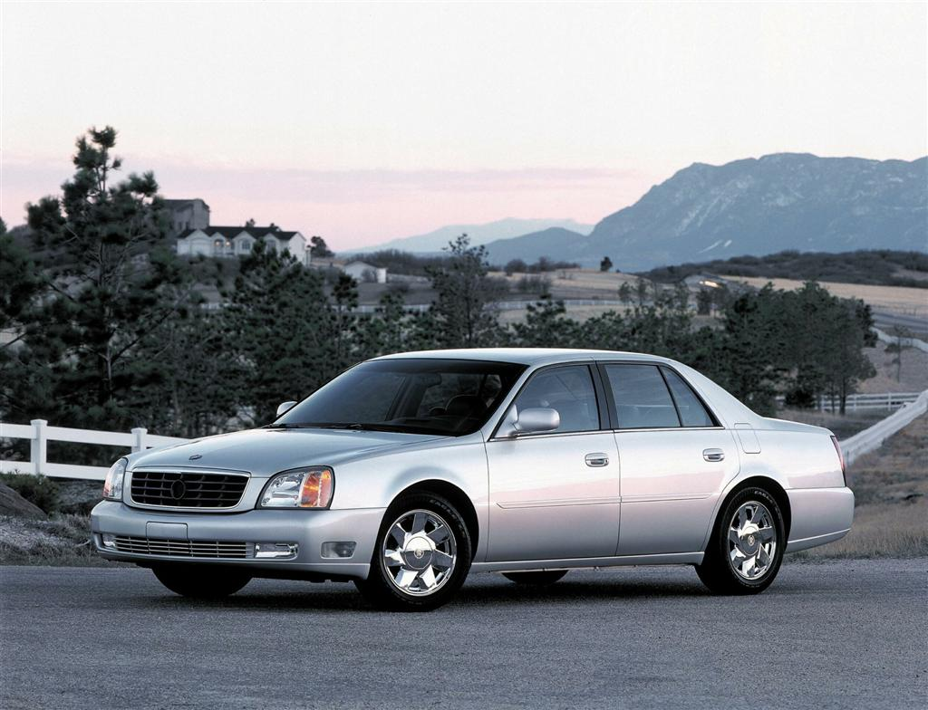 2001 Cadillac Deville Pictures History Value Research