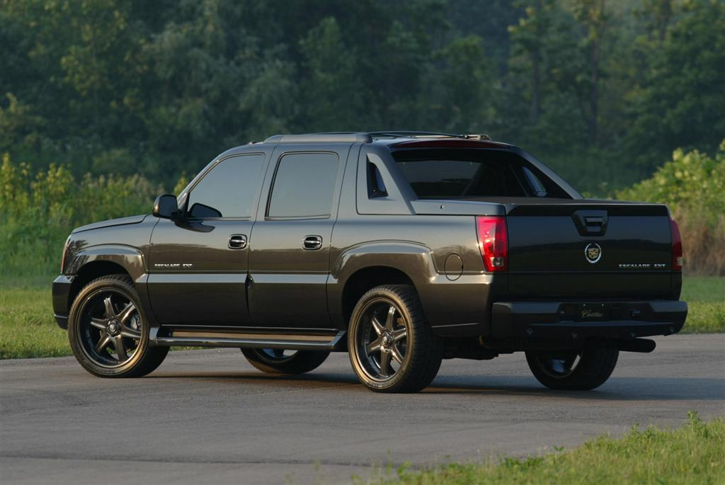 2003 cadillac escalade ext pictures history value research news. Black Bedroom Furniture Sets. Home Design Ideas
