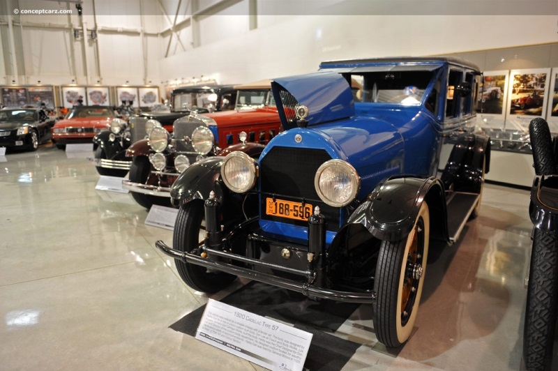 1919 Cadillac Type 57 pictures and wallpaper