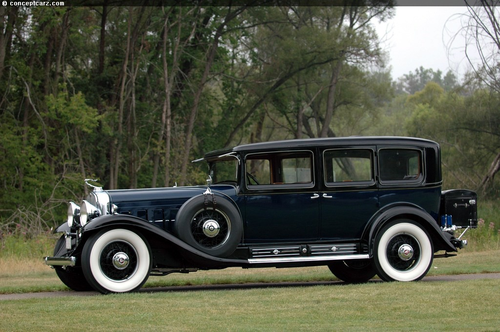 Auction Results And Data For 1931 Cadillac 452a V 16