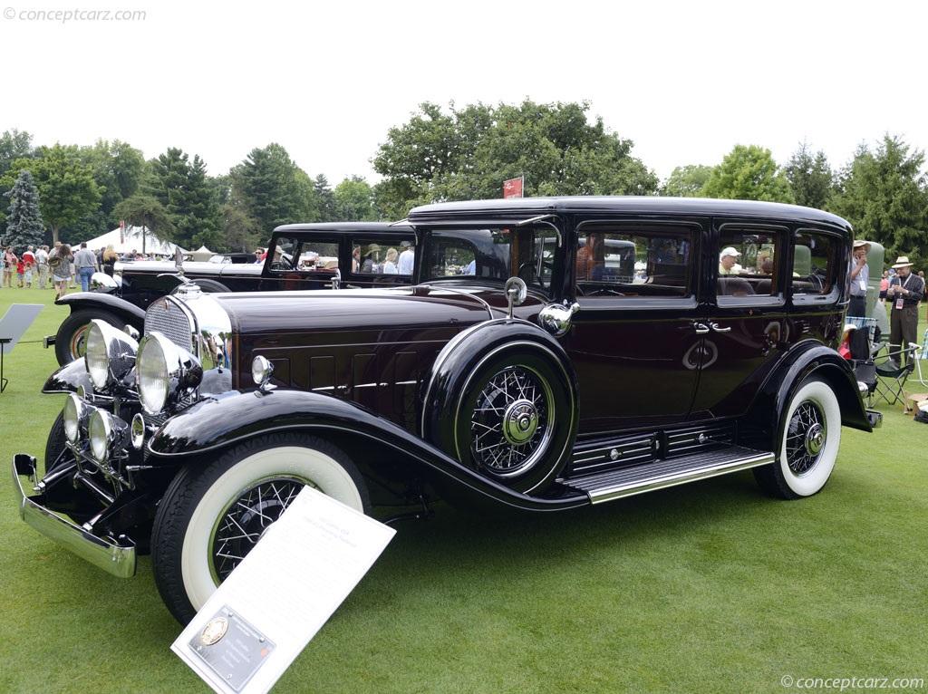 1931 Cadillac 452A V-16 photos