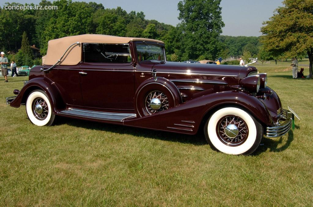1933 Cadillac 452c V16 Conceptcarz Com