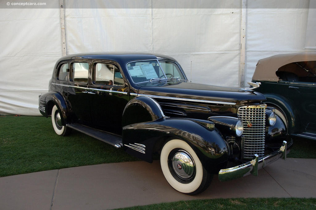 1938 cadillac series 90 at the automobiles of amelia
