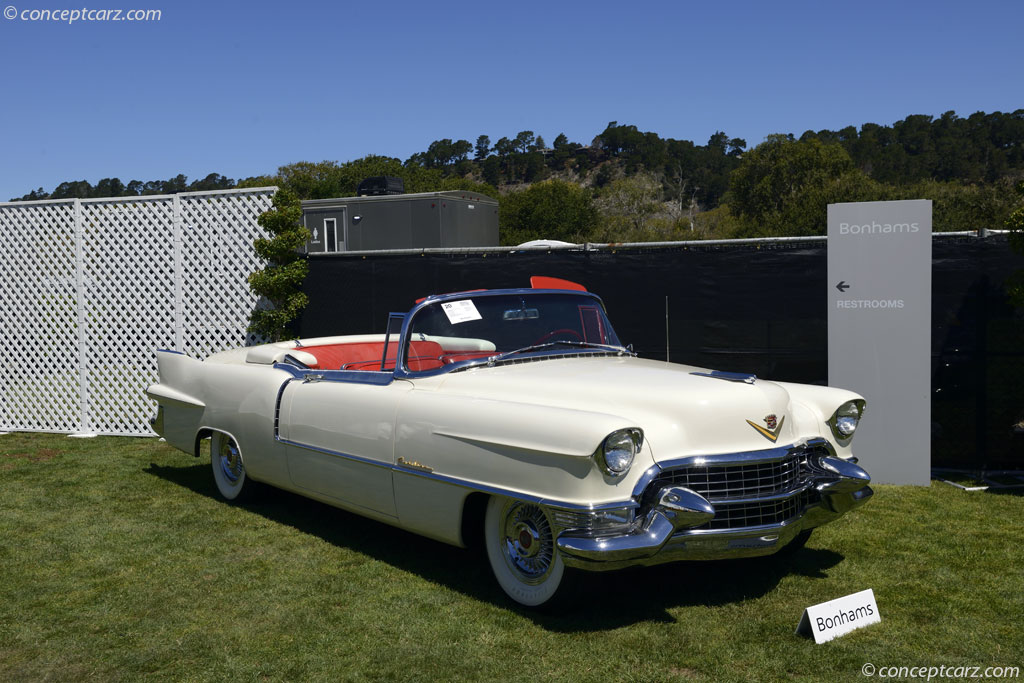 1955 Cadillac Series 62 Sixty Two Coupe Deville