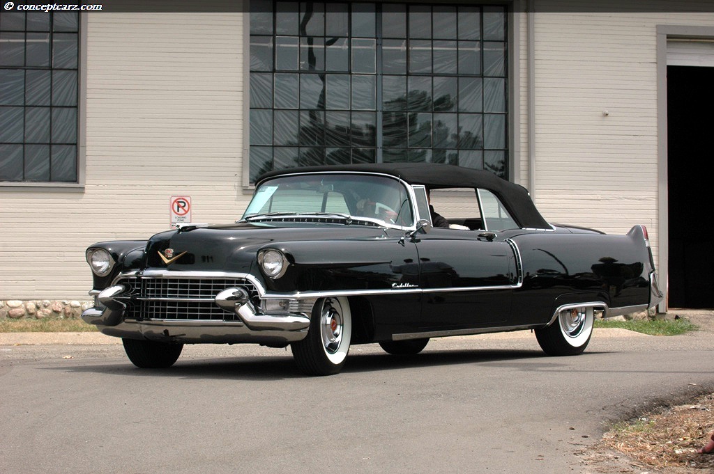 1955 cadillac series 62 sixty two coupe deville. Black Bedroom Furniture Sets. Home Design Ideas