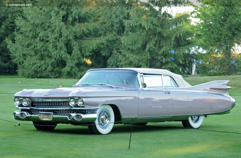 Auction results and data for 1959 Cadillac Eldorado Biarritz