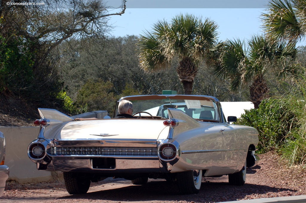 1959 cadillac designer for Exotic motor cars palm springs