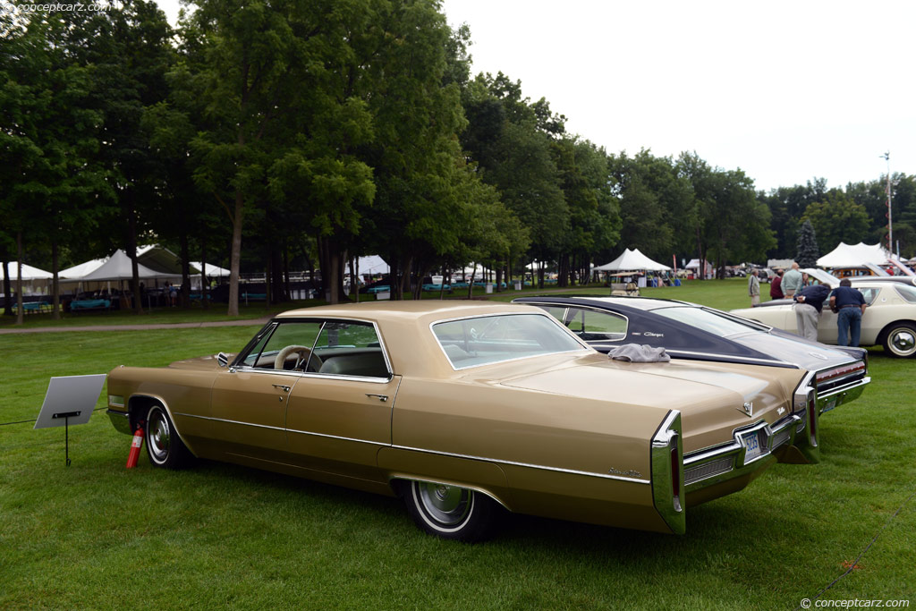 Auction results and data for 1966 Cadillac DeVille  conceptcarzcom