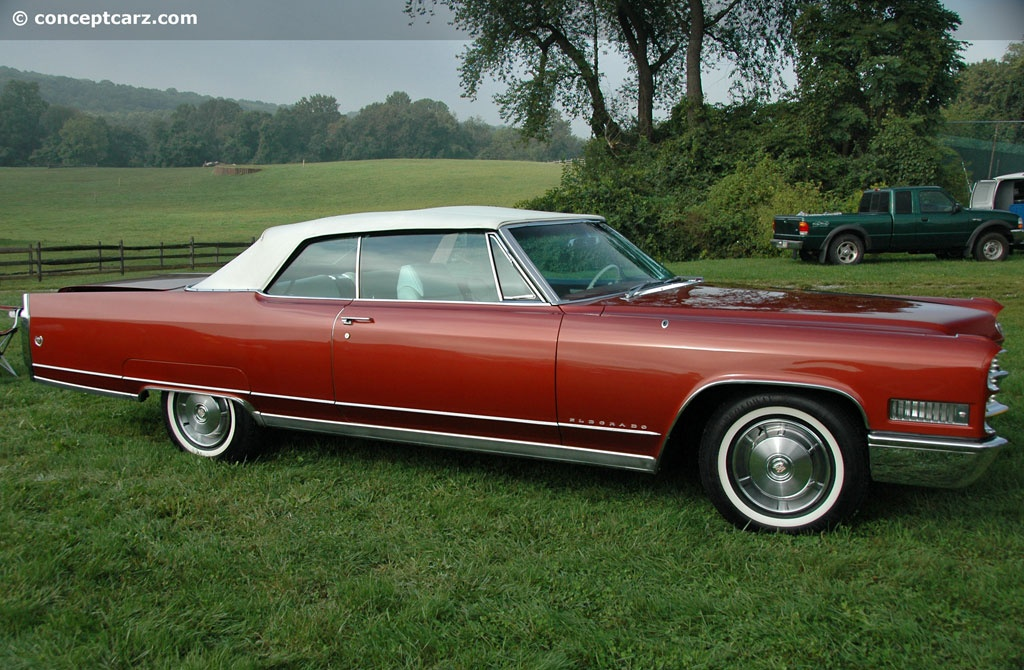 Mustang Dorado >> Auction results and data for 1966 Cadillac Fleetwood Eldorado - conceptcarz.com