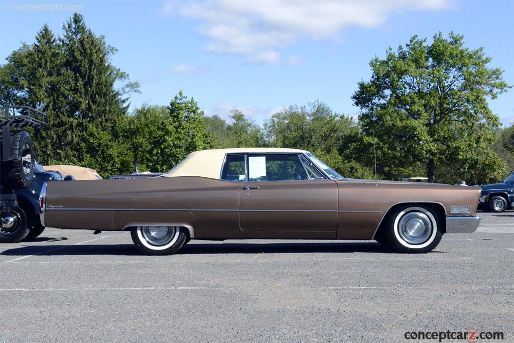 Auction results and data for 1968 Cadillac DeVille ...